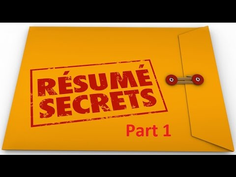 CCNA Resume Secrets In Hindi Part 1   YouTube  Ccna Resume