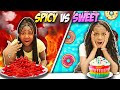 Spicy Food vs Sweet Food Challenge EXTREME mp3