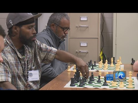Chess Nutz Knights, Miss Virginia mentor teens at Norfolk Juvenile Detention Center