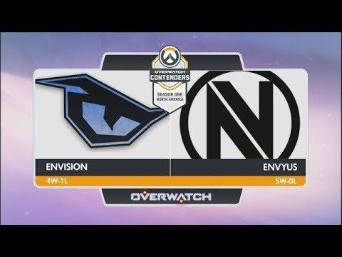 EnVision vs EnVyUs (Part 2) | OW Contenders Season One: North America