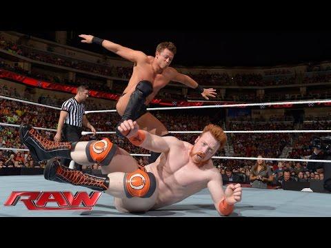Sheamus & Dolph Ziggler vs. Cesaro & The Miz: Raw, Sept. 1, 2014