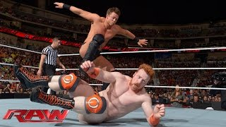 Sheamus & Dolph Ziggler vs. Cesaro & The Miz: Raw, Sept. 1, 2014