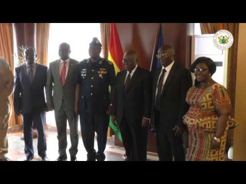 Outgoing Chief of Defence Staff Calls on President Akufo-Addo