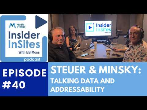Thumbnail for video of article: Steuer and Minsky: A Mind Meld on Omnicom, Advanced TV, and Data – Insider InSites Podcast