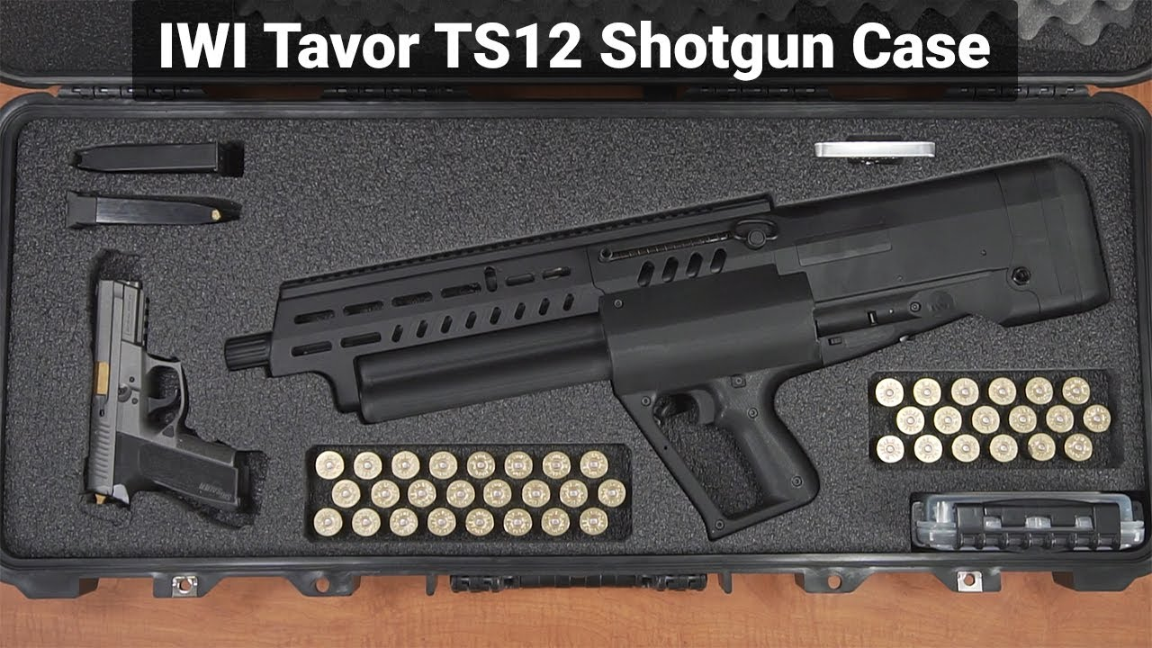 IWI Tavor TS 12 Shotgun Case - Overview - Video