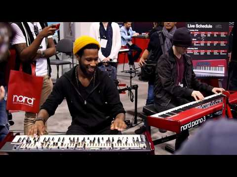 Cory Henry & Nick Semrad - Full Jam session at NAMM 2016