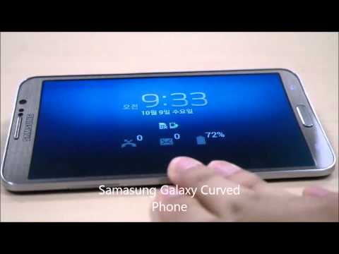 Samsung Galaxy Round Curved Phone is Finally out to public