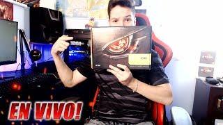 Unboxing de la gráfica más barata y más potente! en VIVO! GT 1030