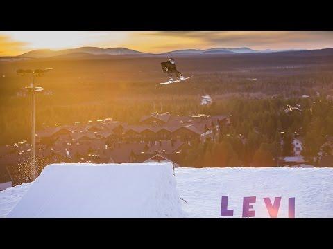 Siim Aunison in Levi Snowpark