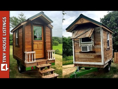 Mike Built Himself A 50 Square Feet Tiny Cabin