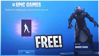 "HOW TO UNLOCK THE *FREE* ""BOOGIE DOWN"" EMOTE IN FORTNITE! (Fortnite Free EPIC EMOTE GIFT TUTORIAL)"