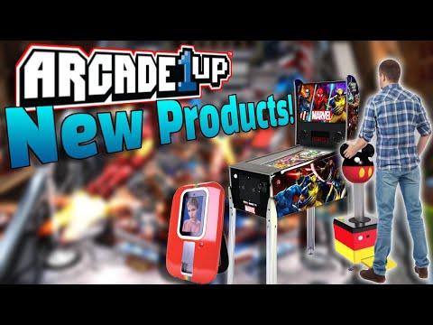 Arcade1Up Marvel Pinball, Giant Joysticks, & Polaroid Photobooths!? from COOLTOY