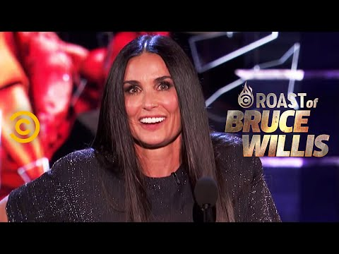 Demi Moore Spills on Life in the MooreWillis Household  Roast of Bruce Willis  Uncensored