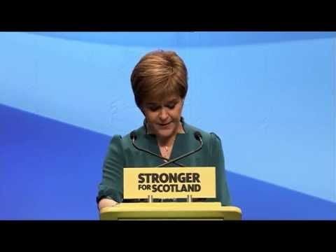 Nicola Sturgeon signals second referendum on Scottish independence