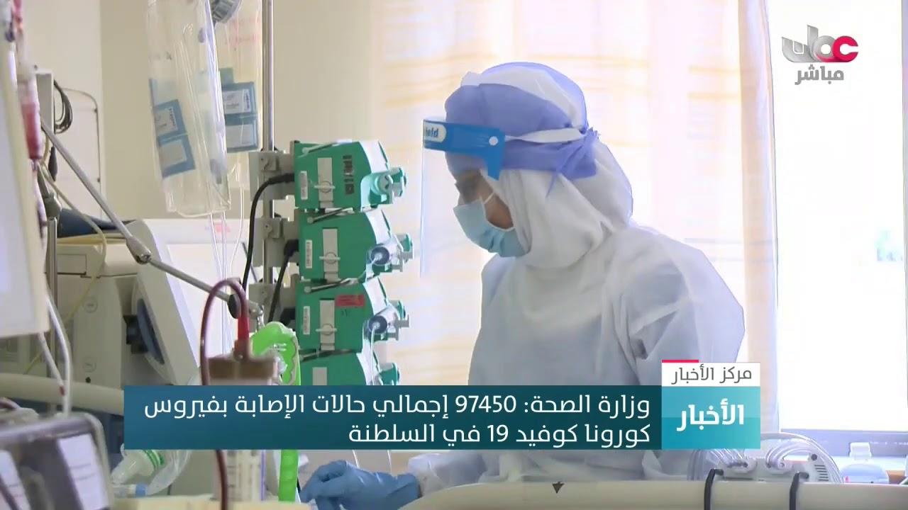 وزارة الصحة: 97450 إجمالي حالات الإصابة بفيروس #كورونا #كوفيد19 في #السلطنة