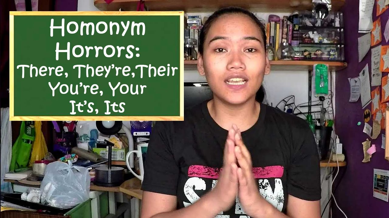 Download Homonym Horrors: There, Their, They're, Your, You're, Its, It's - Civil Service Exam Review