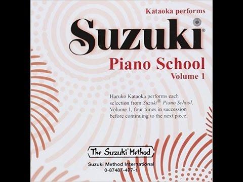 Suzuki Piano School Book 1 - French Children's Song (Folk S