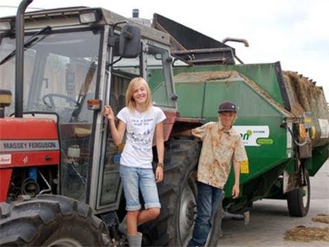 WAS IST WAS - Bauernhof - Doku Film DVD Video Wiki Kinder Wissen Kuh Schwein Huhn Tiere Getreide