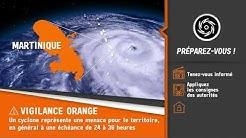 Alerte cyclonique orange