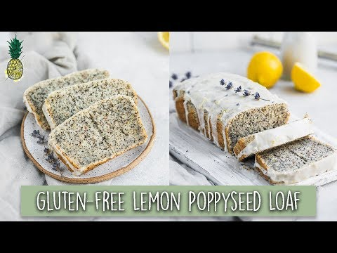 Gluten-Free Lemon Poppyseed Loaf 🍋Vegan Spring Baking!
