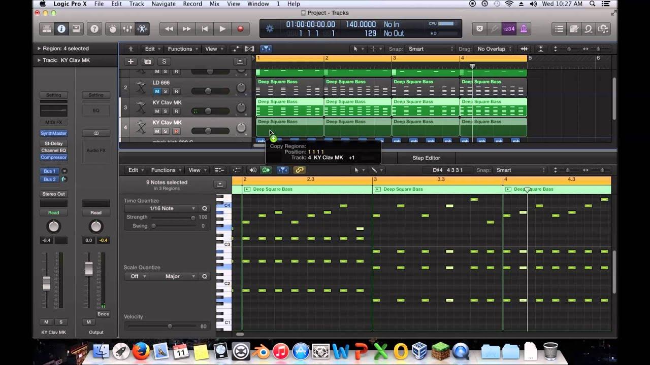 Mastering edm ep 19 writing a melodychord progression logic mastering edm ep 19 writing a melodychord progression logic pro x youtube hexwebz Gallery
