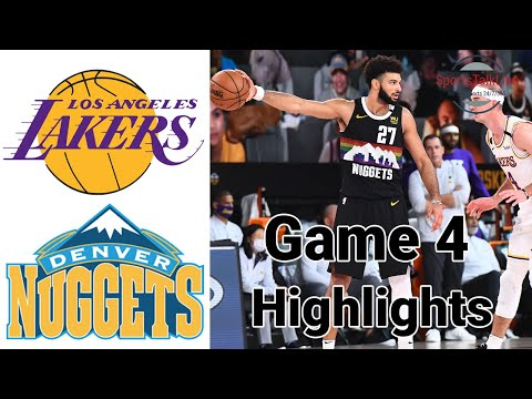Lakers vs Nuggets HIGHLIGHTS Full Game   NBA Playoff Game 4