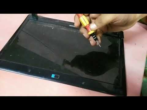 How to Disassemble Hasee HEC41 Laptop  & Fix Lid/Hinge Tight Problem - Laptop Teardown Video