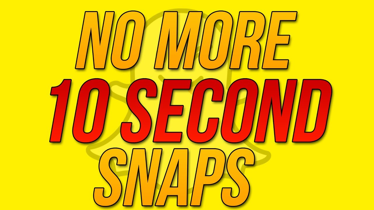 Snapchat Update 10.13.0 - How to Record Longer Than 10 Seconds In ...