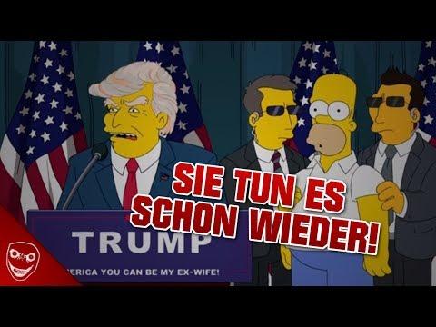 Schon wieder sagen die Simpsons die Zukunft voraus! Oder etwa doch nicht?