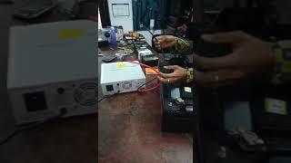 यूपीएस को बैटरी के साथ कैसे लगाए