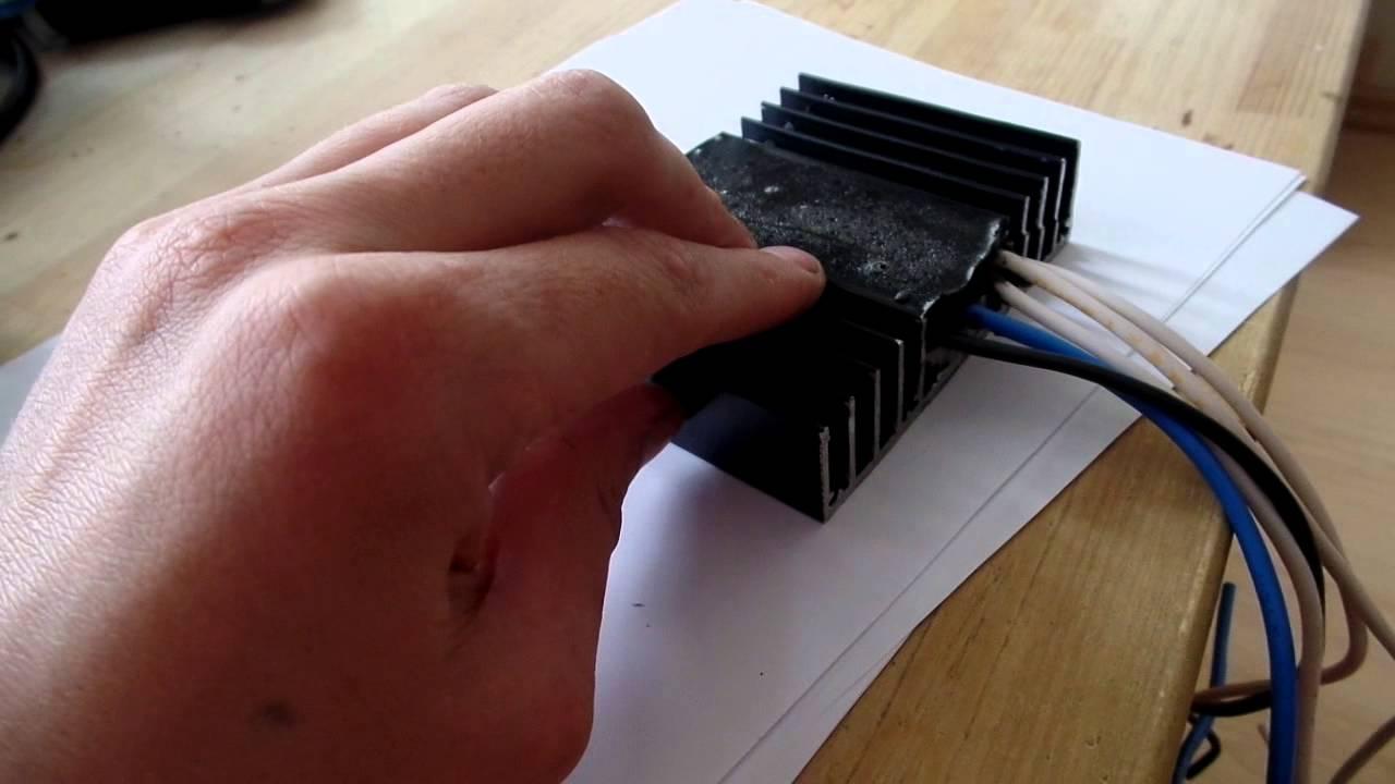 схема электронного реле регулятора напряжения ваз 2107
