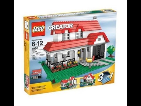 Lego Creator House 4956 Instructions Diy Book 1 Youtube