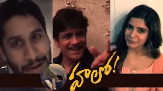 Celebrities Launches Akhil's HELLO Movie First Look | TFPC