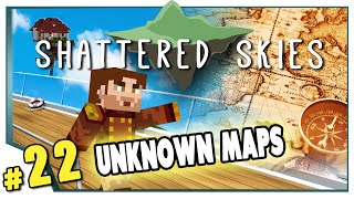 Minecraft: Shattered Skies - #22 - Unknown Maps (FTB Skyblock)