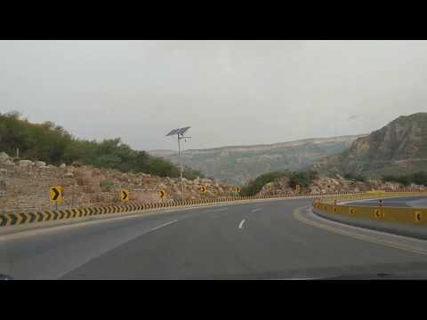 [4K] Salt Range Kallar Kahar Pakistan Islamabad-Lahore Motorway
