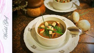Грибной суп-пюре | Рецепт | Веганские рецепты