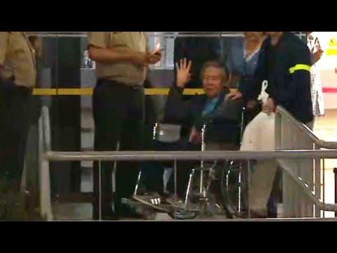 Pardoned Peru ex-president Fujimori released from hospital: AFP