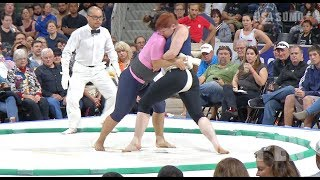 2018 US SUMO OPEN - Women's Highlights