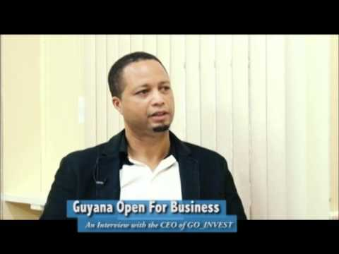 Guyana Open For Business