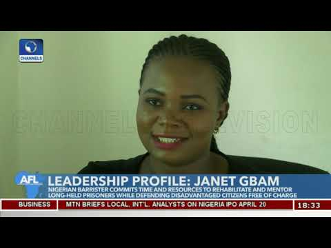 Young Janet Gbam Commits To Defending Vulnerable Citizens For Free Pt.1 |Africa's Future Leaders|