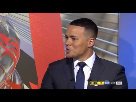 Jermaine Jenas v Alan Shearer at Wembley