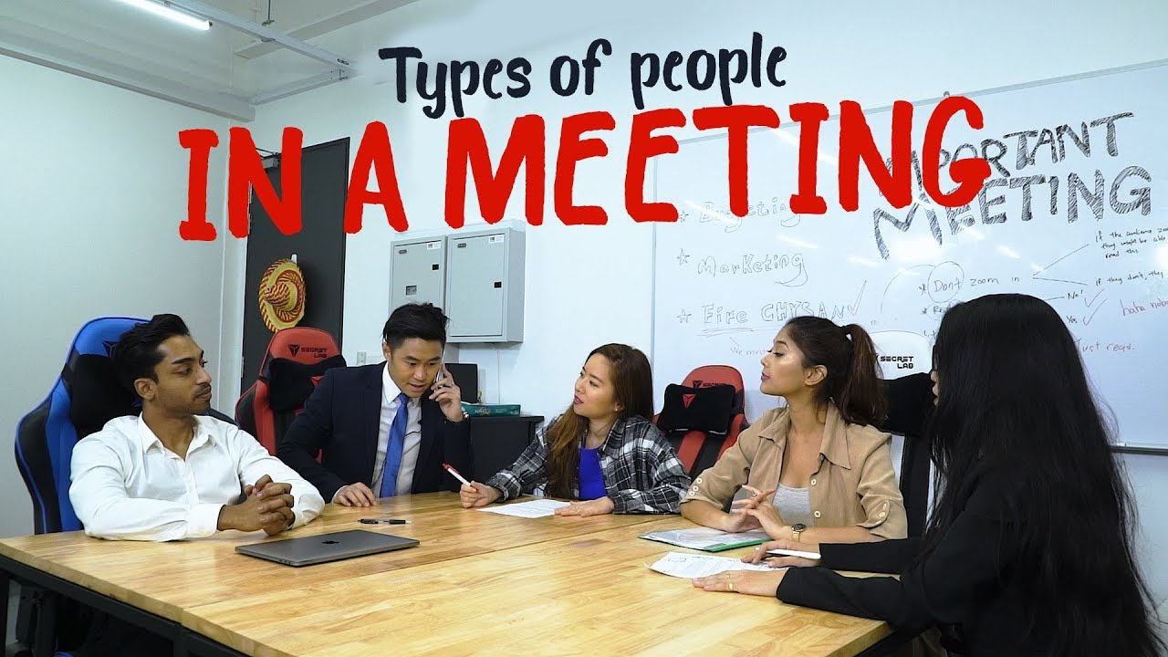 Pictures of people meeting