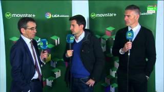 Entrevista Fernando Vázquez y Lluis Carreras tras Real Zaragoza 2 - RCD Mallorca 1. 15/16