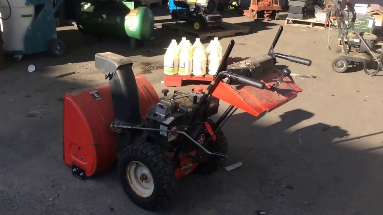 MTD Yard Machines 8/26 Snow Blower | For Sale | Online Auction