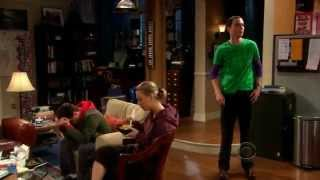 TBBT - New neighbors sheldon reaction
