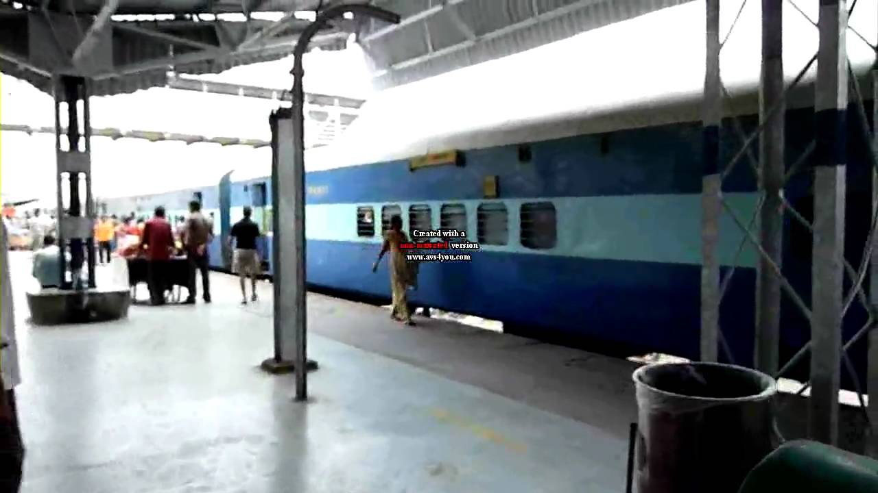 On The Platform Of Agra Cantt Train Station India Youtube