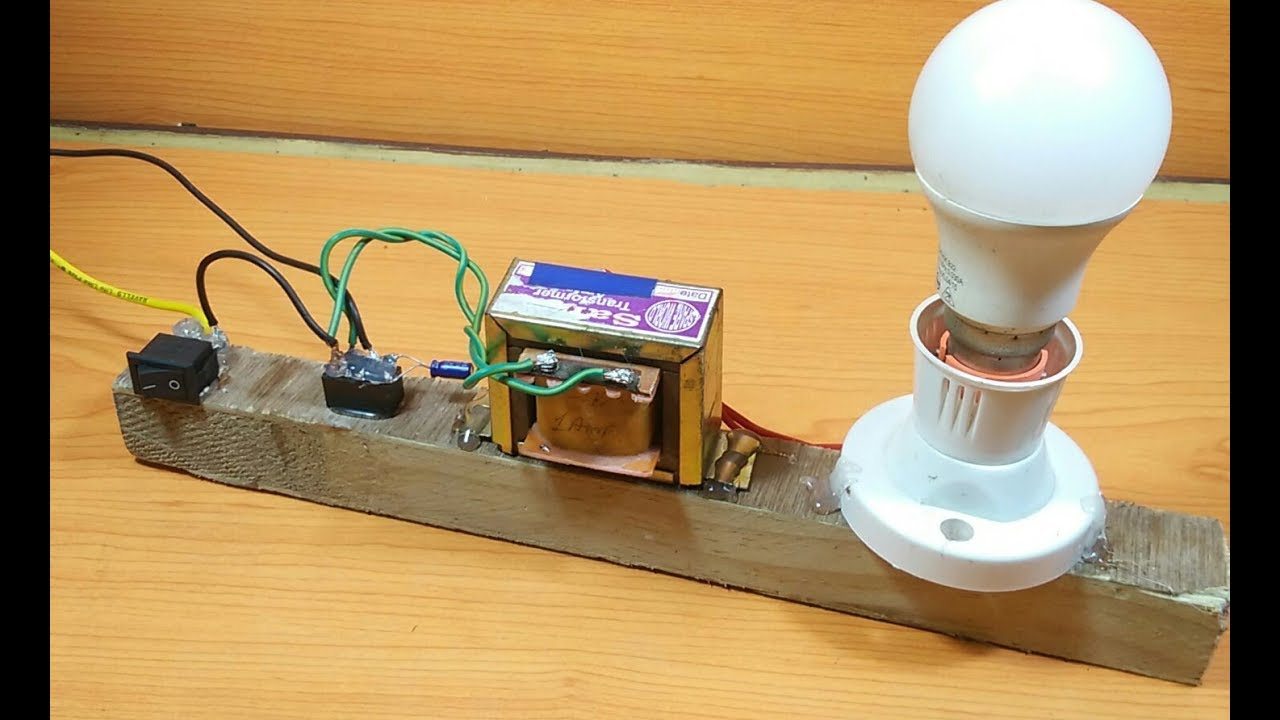 How to Make a simple 12v to 220v inverter(dc to ac) at home easily without any ictransistor