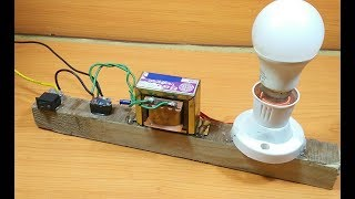 vuclip How to Make a simple 12v to 220v inverter(dc to ac) at home easily without any ic/transistor