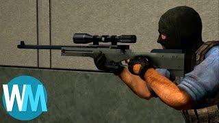 Top 10 des ARMES SURPUISSANTES dans les jeux vidéo multijoueur !