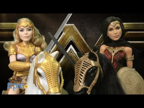 Wonder Woman Queen Hippolyta and Horse & Wonder Woman and Horse from Mattel